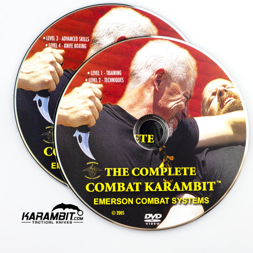 The Complete Combat Karambit Training DVD by Emerson Combat Systems