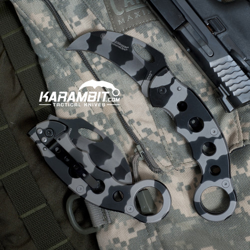 Smith & Wesson Urban Titanium Camo Karambit
