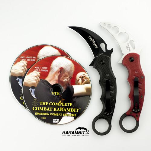 Fox 479 Karambit + Trainer + DVD - 3 in 1 Package (FX479+Trainer+DVD)