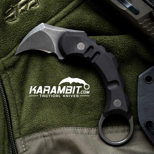 R.S. Knifeworks Rabid Pygmy Karambit (RSKPygmyKbitMTO)