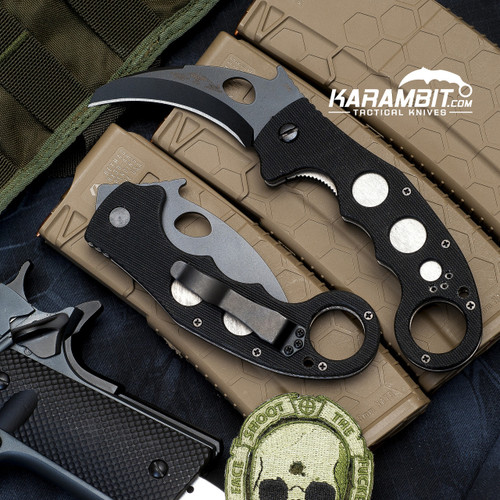 Emerson Black Super Karambit Folding Knife