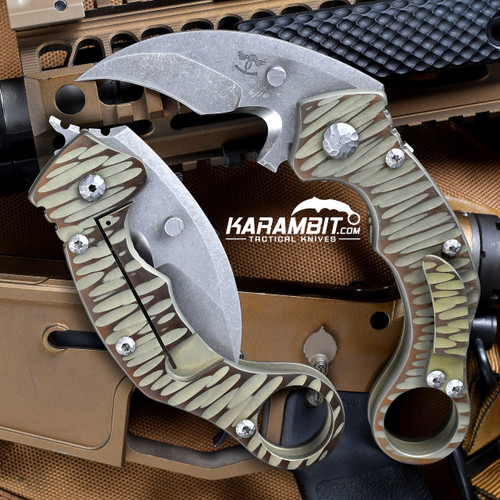 James Coogler's Assisted Reaper X2 Folding Karambit (CooglerAssistedReaperX2MTO)