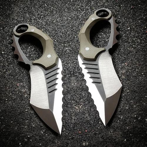 R.S. Knifeworks Fatboy D-Guard Spade (RSKFatboyDGuardSpMTO)