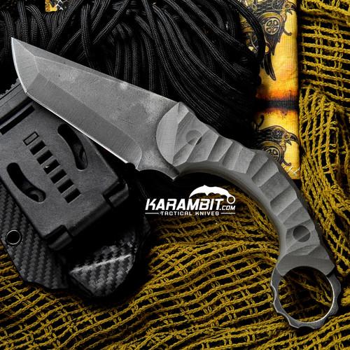 R.S. Knifeworks Apache Ringed Knife (RSKApacheRingedMTO)