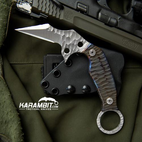 Phantom Steelworks D2 Karambit with Titanium Scales (SteelworksD2TiScales)