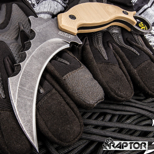 Stone Raptor Fixed Karambit (BK4335)
