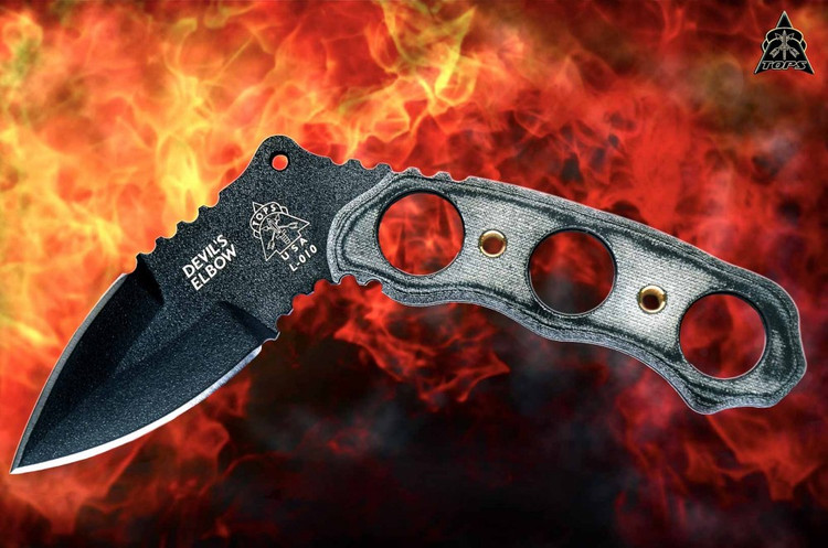Tops Devil's Elbow XL Karambit (DEV-01)