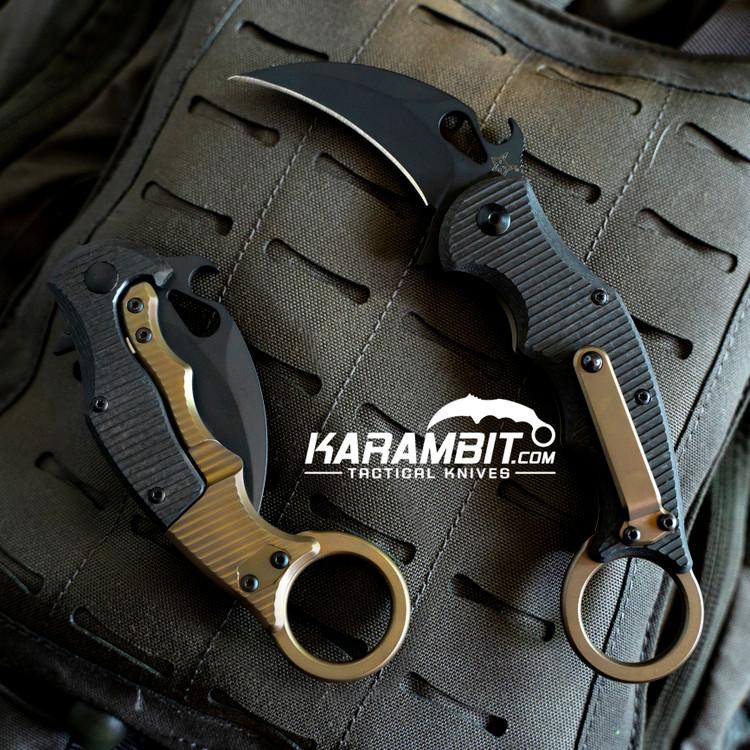 Fox 599Tic Folding Karambit - Emerson Wave (FX-599Tic)