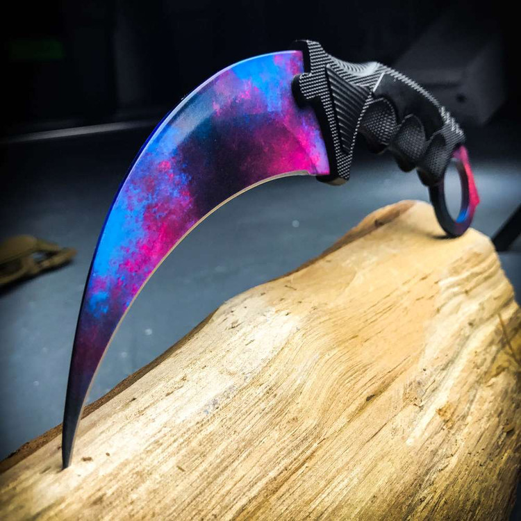 Upgraded Galaxy Honshu Karambit (CSBL)