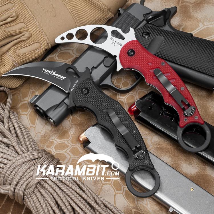 Fox 479 G10 Karambit + Trainer - 2 in 1 Package (FX479 + FX479TK)