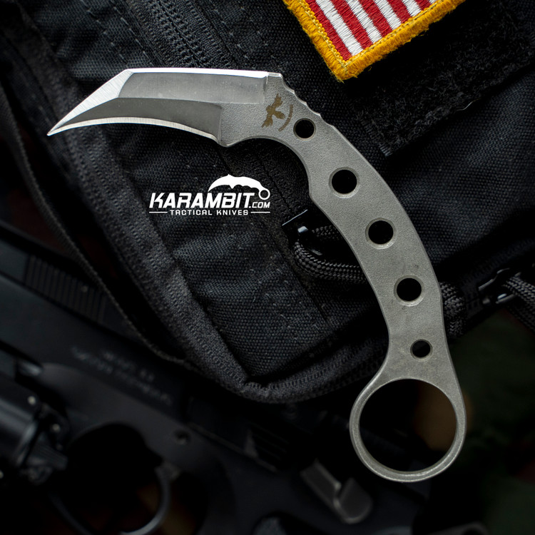 James Coogler's Stone Washed E.D.G.E 2.0 Prototype Karambit (JCooglerSWEDGE2.0protokbit)