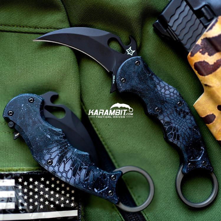 Fox EVO Handle Set - Kryptek (FX-EVO-H-Kryptek)