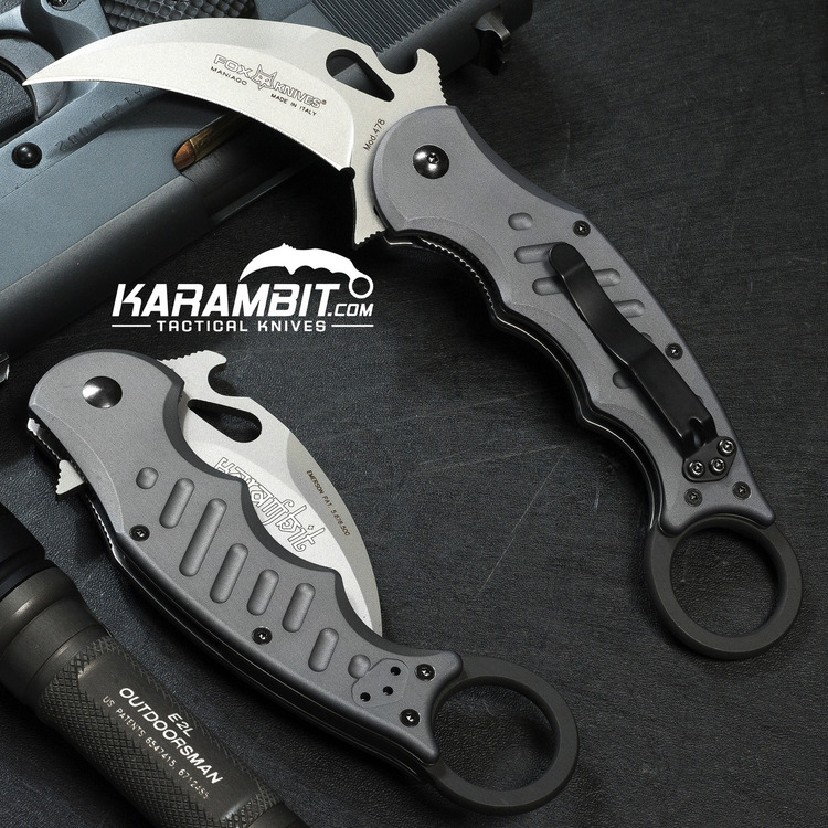 Fox 478 Aluminium Folding Karambit - Emerson Wave (FX478)