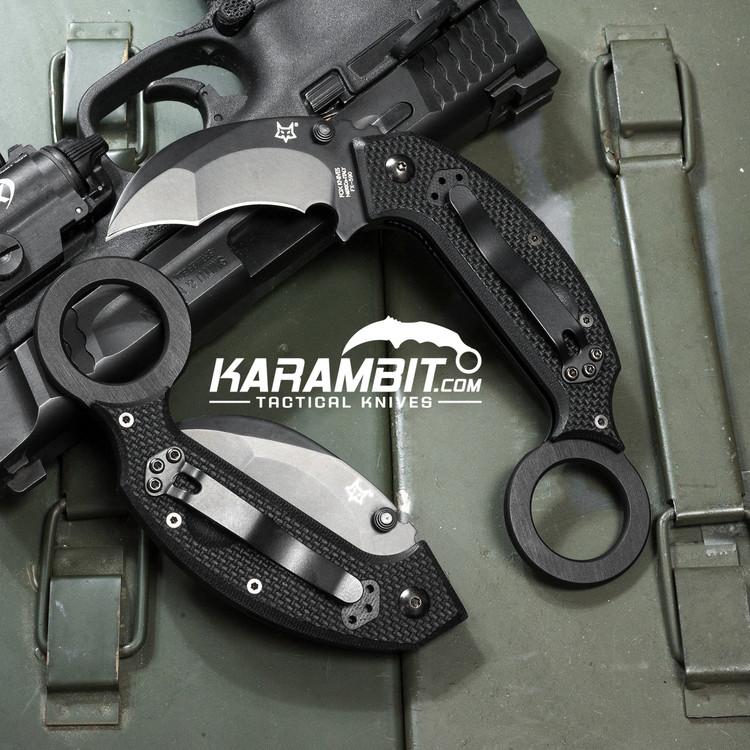 Fox Derespina Chiroptera Folding Karambit (FX-590)