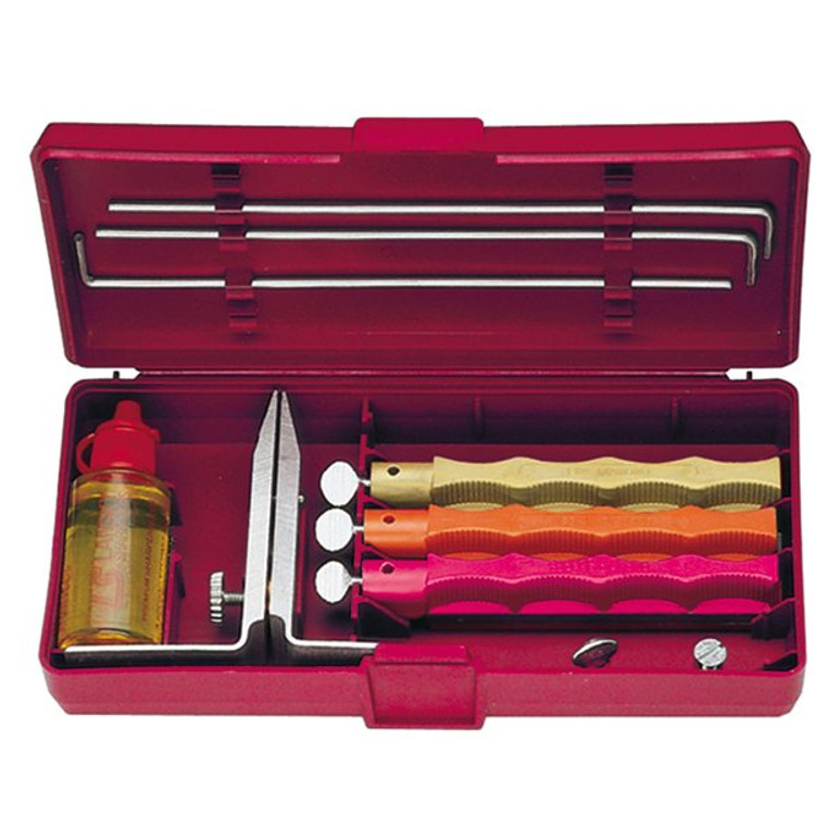 Lansky Standard Knife Sharpening System, Coarse/Medium/Fine Hone, LKC03