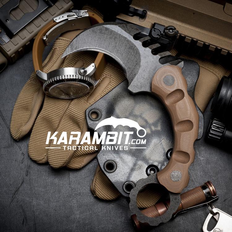 R.S. Knifeworks Deadman's Hand Karambit (RSKDeadmanHandKbit)