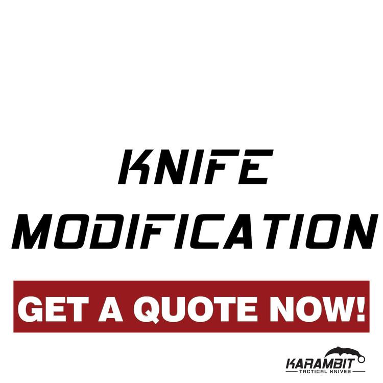 Knife Modification