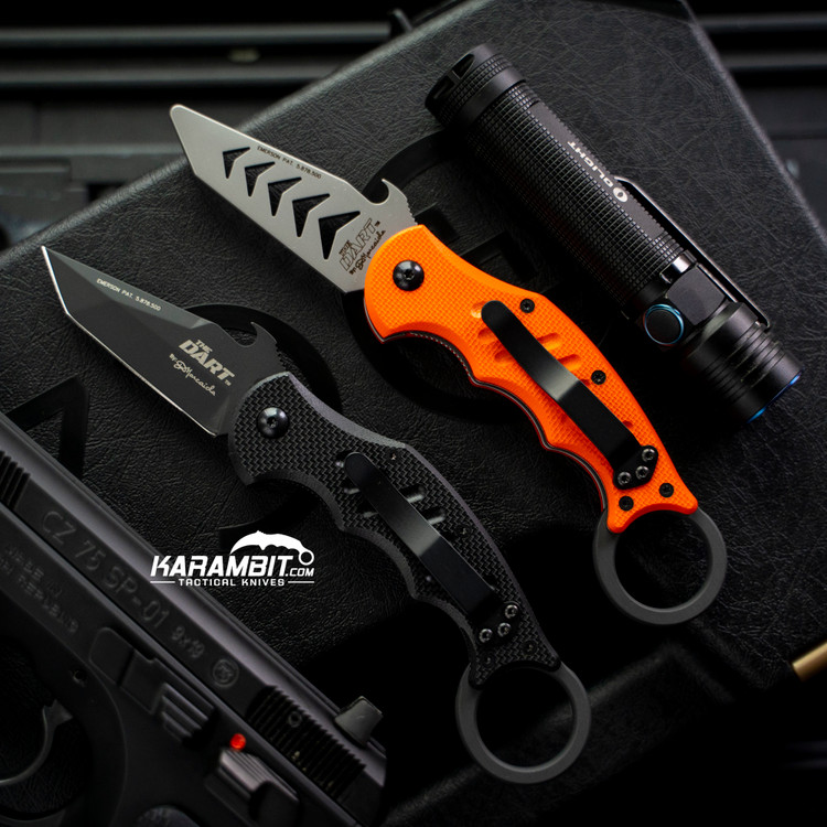 Fox 597 Dart Karambit + Trainer - 2 in 1 Package (FX597 + FX597-TK)