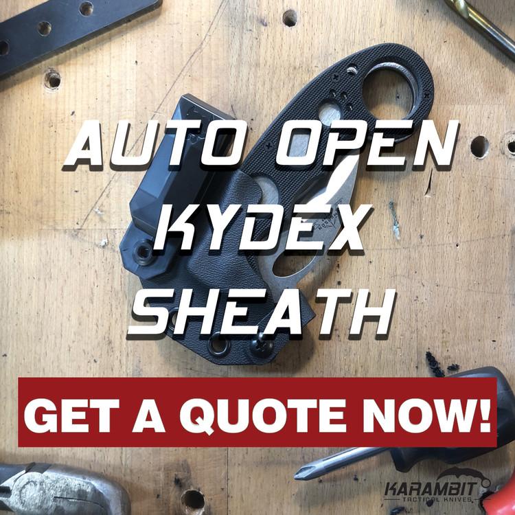 Emerson Wave Auto Open Kydex Sheath