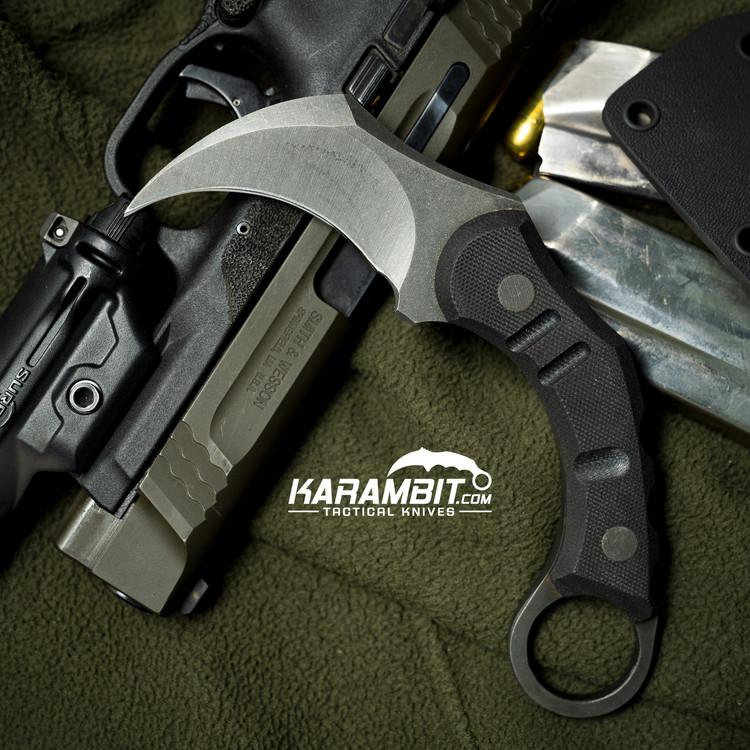 R.S. Knifeworks Peacekeeper Blackout Karambit (RSKPeacekeeperBlkoutKbit)