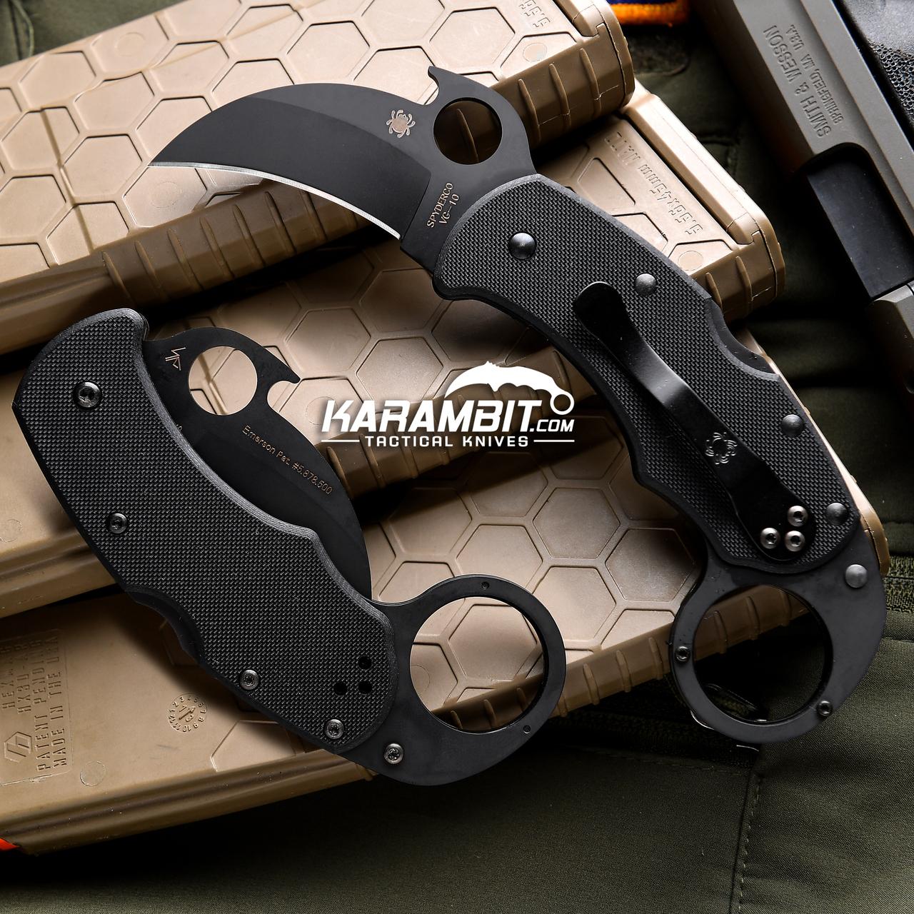 Spyderco Knives Karahawk Lockback G10 C170GBBKP
