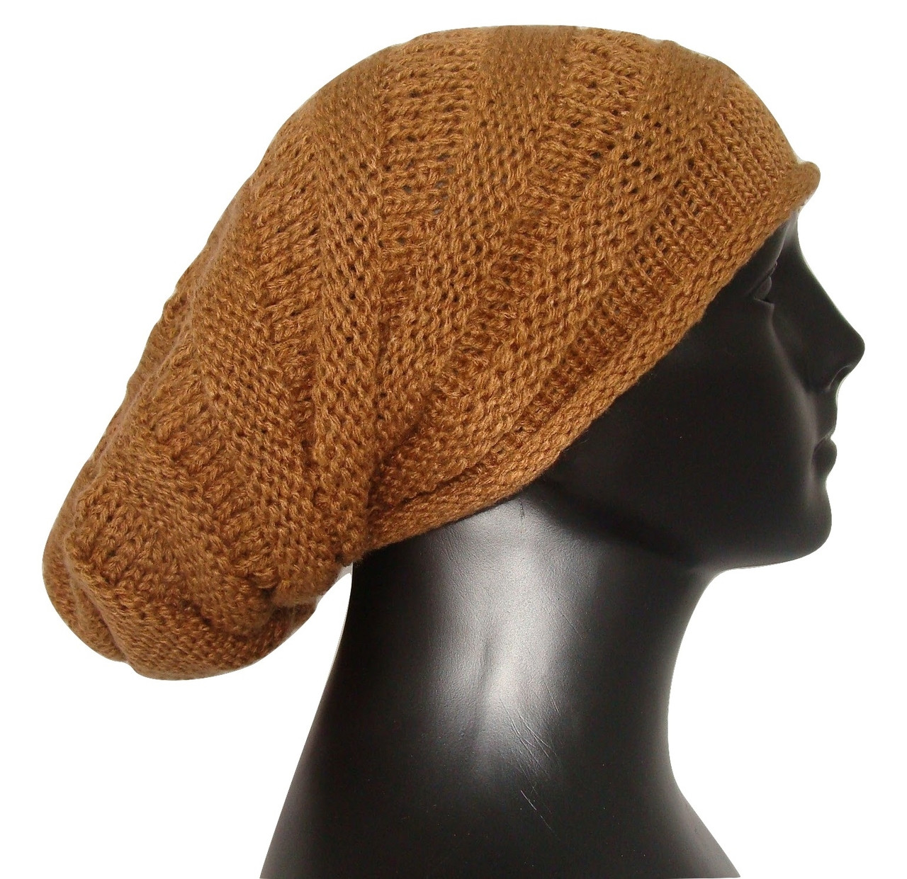 49120949892 Slouchy Beanie Hat Over-sized 100% Alpaca Natural Colors Soft and Warm -  Sanyork Fair Trade