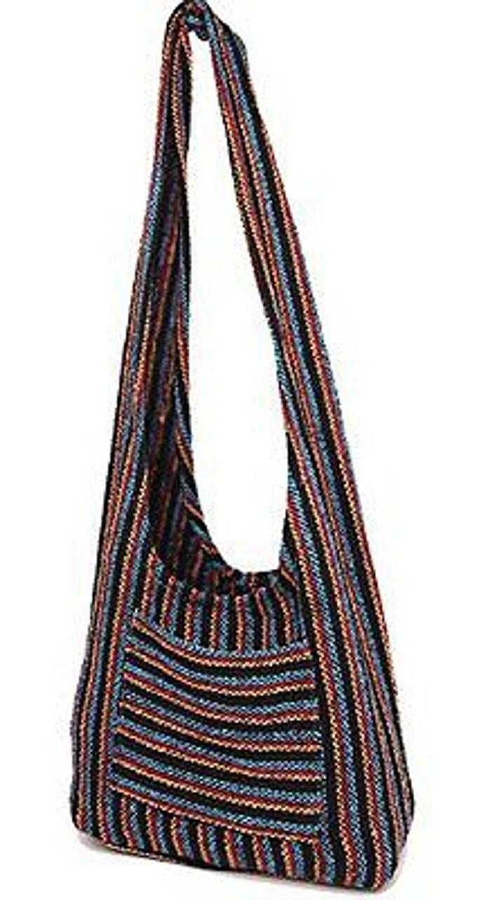 Hippie Bag Cross-Body Baja Sling Bag Tote