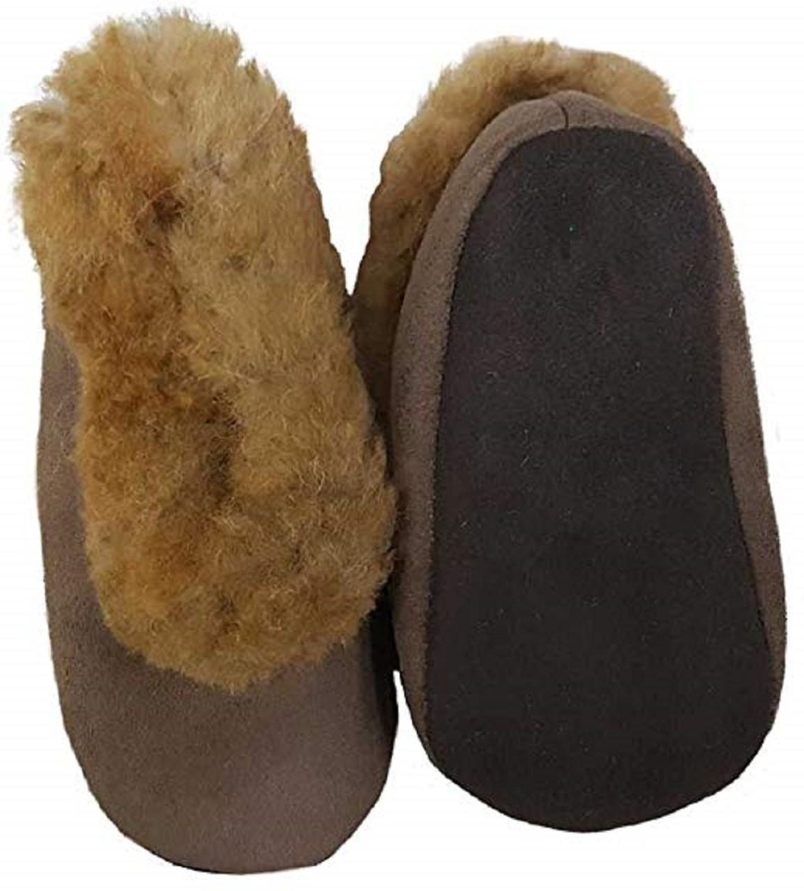 e9700e6b55e 100% Handmade Alpaca Fur Interior Warm Super Comfortable Exterior Alpaca  Leather Suede  Suede Slippers ...
