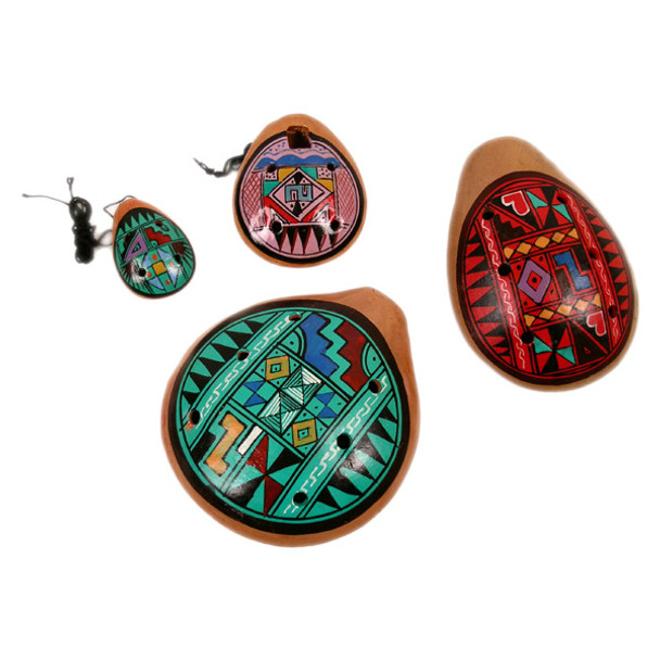 Ocarina Whistles from Peru Ancient Andean Instrument