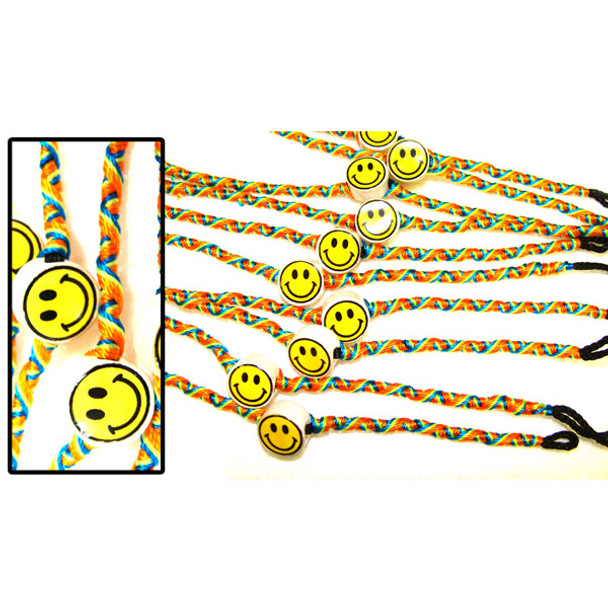 Friendship Bracelets Beaded Smiley Face Sanyork Fair Trade