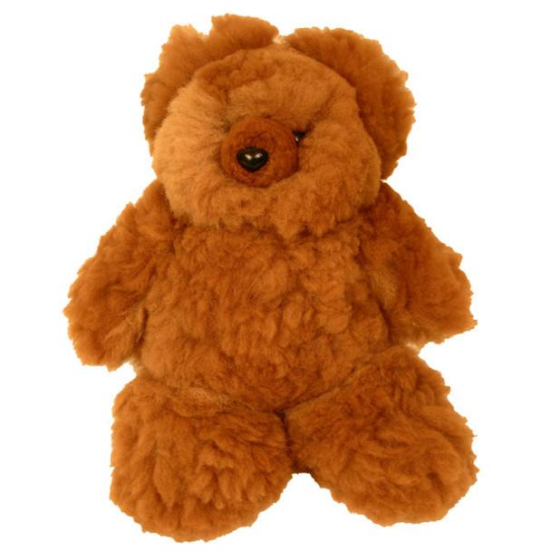 Hand Made 100% Alpaca Fur Teddy Bear  Made in Peru Fair Trade