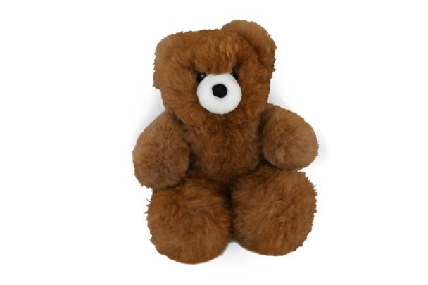 "Baby Alpaca Teddy Bear Chesnutt 24"" Pure Softness Extra Large"