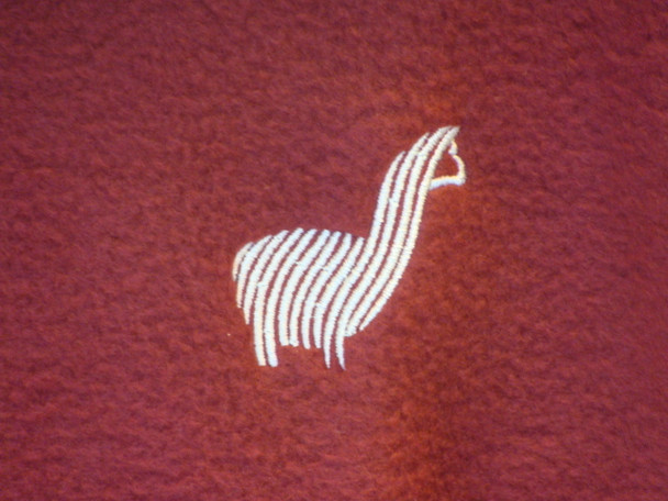 Alpaca Embroidered Logo