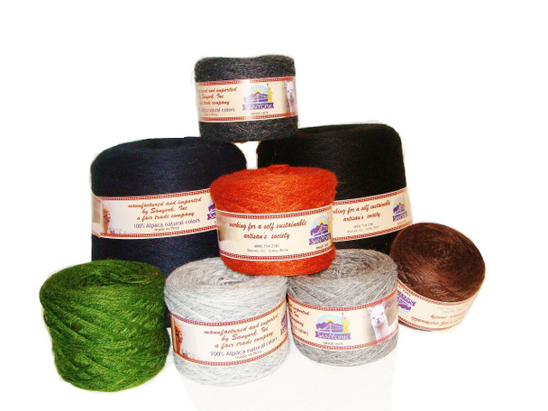 One of Most Luxurious Yarn Products in the World Alpaca Yarn Skeins 100 Grms (3.5 OZ) Colors