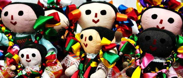 Traditional Mexican Doll Assortment