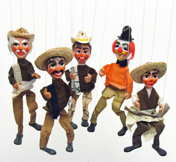 Street Puppets from Mexico Marionettes
