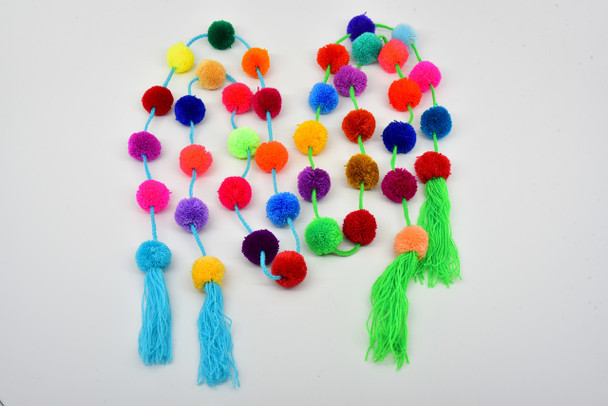 Mexican Decor /Ethnic / Boho / Tribal / Home Decor Long Strings