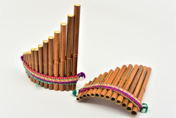 Curved Medium Pan Flute Classic Design