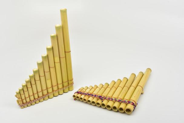 Pan Flute 12 Tubes Plain Md