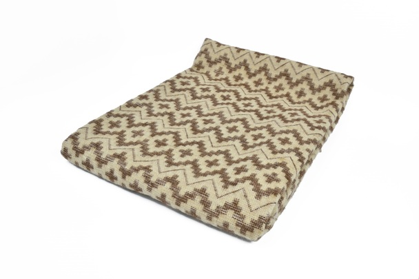 "Chacana Inca Cross Pattern Two Tone Alpaca Blanket Reversible Colors 60"" x 84"""