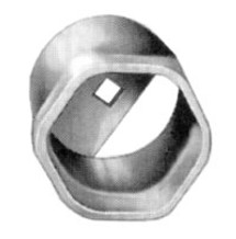 OTC 1928 2-9/16in. 3/4in. Drive 6 Point FW Bearing Locknut Socket