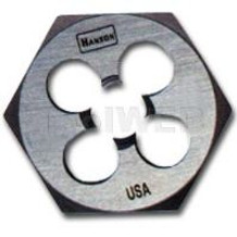 Hanson 9434 High Carbon Steel Hexagon 1in Across Flat Die 3/8in-16 NC