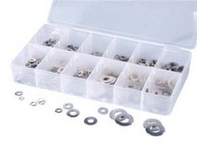 ATD 360 350 Pc. Stainless Lock and Flat Washer Assortment