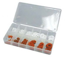 ATD 371 200 Pc. Fiber and Nylon Washer Assortment