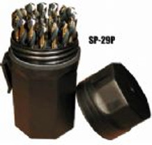 Viking 66480 SPM-29P Mechanics Length Drill Bit Set, 1/16 to 1/2 in