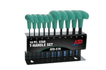 ATD Tools 576 Star T-Handle Set, 10pc