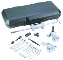 OTC 7948 Puller Set Slide Hammer - 10 Way with Plastic Case