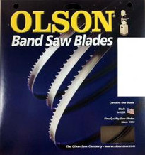 "Olson 23693 Band Saw Blade 93-1/2"" Long x 1/2"" Wide .025"" Thick 10 TPI"
