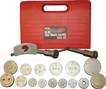 ATD Tools 18 Pc. Disc Brake Caliper Tool Set ATD-5165