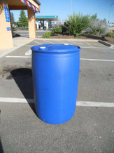 Blue Bung Top 55 Gallon Barrel